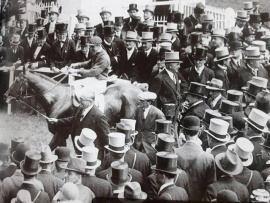 Blenheim Harry Wragg after The Derby in 1930