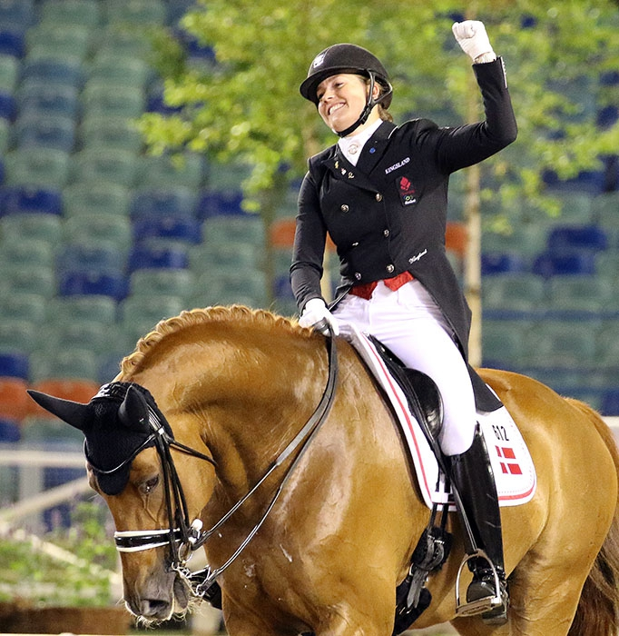 Cathrine Dufour & Cassidy Climb to No. 5 In World