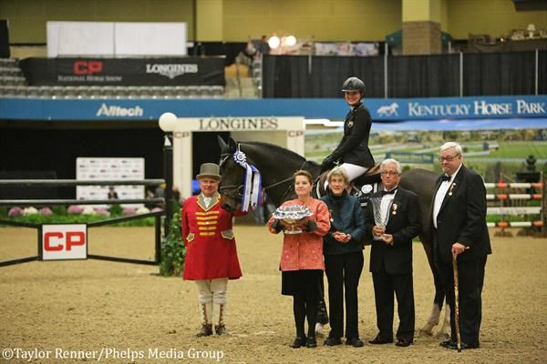 Emily Moffitt Makes Winning Debut at CP National Horse Show