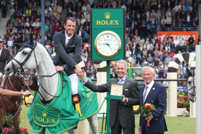 Prize giving ceremony Rolex Grand Prix Photo: CHIO Aachen / Foto Studio Strauch