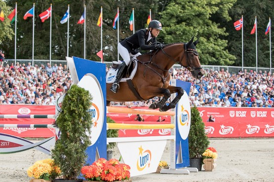Eventing gold for Great Britain and Germany's Ingrid Klimke at Strzegom