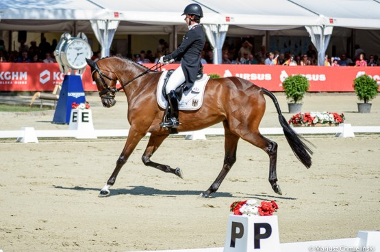 Bettina Hoy puts Germany in control at Strzegom