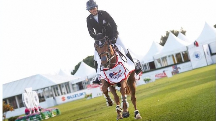Fifth Grand Prix Victory for Gudrun Patteet and Sea Coast Kashmira Z