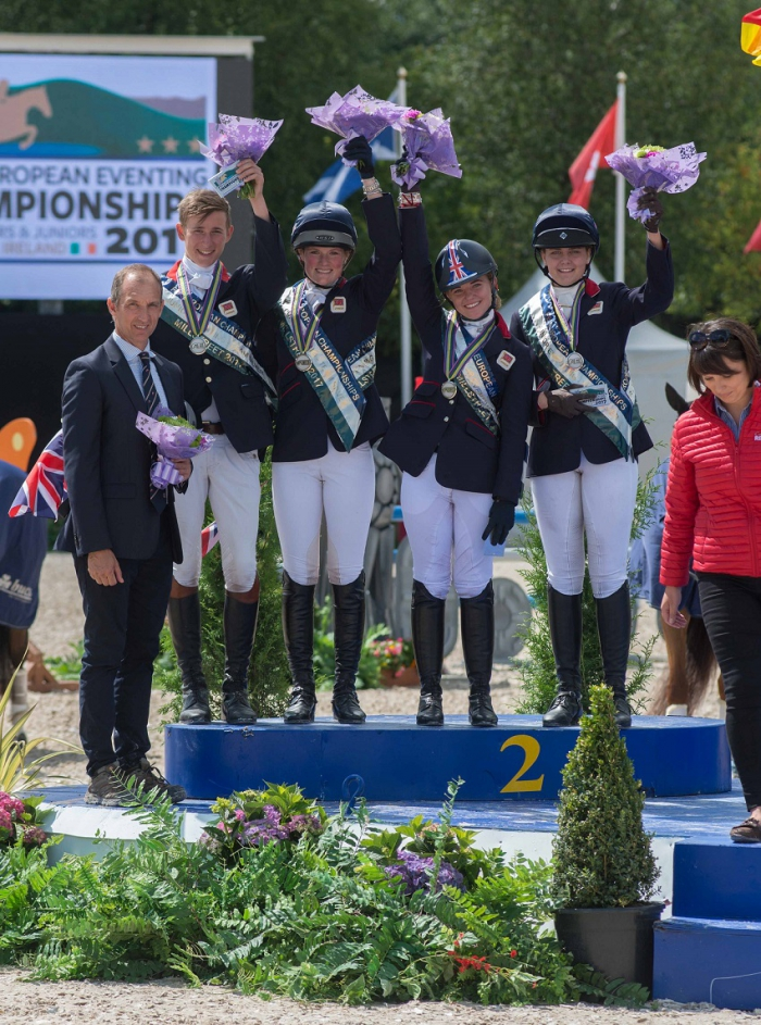 Gold for Great Britain at the Young Rider & Junior European Eventing Championships
