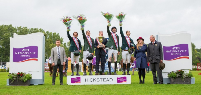Brazil scores first Hickstead win in FEI Nations Cup