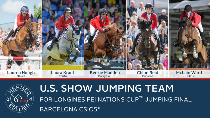 US Equestrian showjumping team