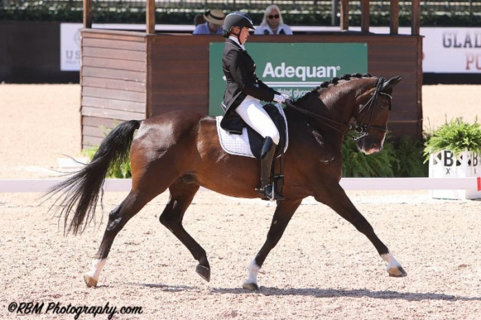 Duncan and Vitall Capture FEI Grand Prix Win On Day One Of Tryon FEI CDI-W