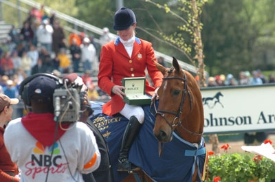 Kim Severson and Winsome Adante won the Rolex Kentucky Three-Day Event three times. Chronicle Archives Photo
