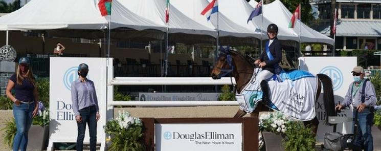 A Win for McLain Ward and Catoki in the $37,000 Douglas Elliman Real Estate 1.45m CSI5*