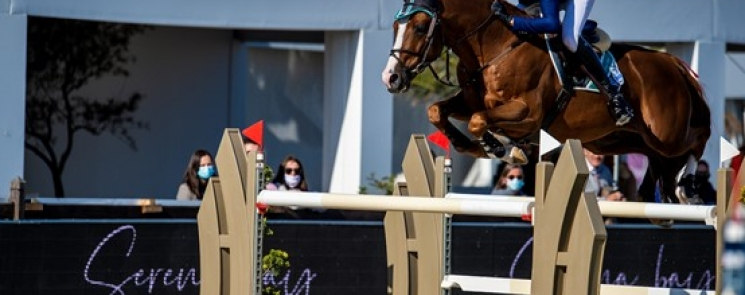 A VICTORY FOR DANIEL DEUSSER AT THE FINAL HUBSIDE JUMPING SHOW