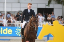 Alexander Housen is the new rider at the Van de Helle stables