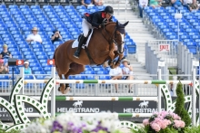 Billy Buckingham at the World Equestrian Games Tyron USA