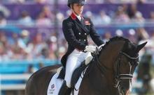 Triple Olympic gold medallist, Charlotte Dujardin
