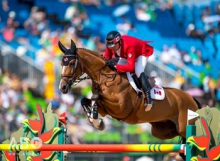 Eric Lamaze riding Fine Lady 5