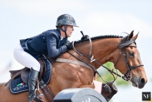 Lauren Hough's Waterford retires from top level showjumping