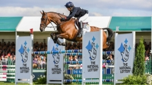 Its a second Burghley title For Pippa Funnell