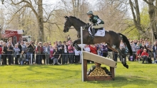 Nicky Roncoroni and Trig Point at Badminton 2013